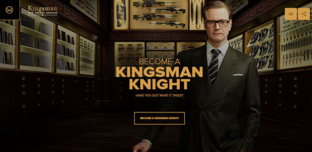 Become a Kingsman Knight
