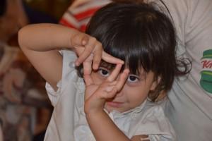 petite fille Enfants Sourds du Cambodge