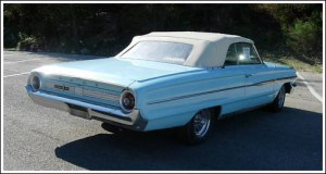 1964 Ford Galaxie Convertible Tops and Convertible Top Parts