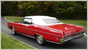 196972 Mercury Monterey & Marquis Convertible Tops and