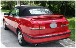 199803 Saab 93 & 93 SE Convertible Tops and Convertible