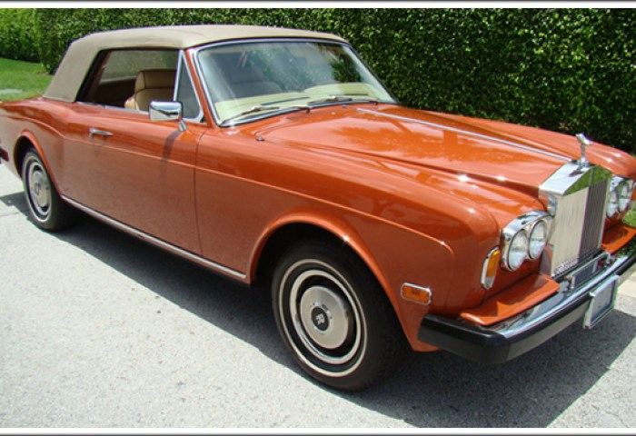 1966 86 Rolls Royce Silver Shadow Corniche Convertible Tops And