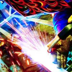 Davis Industrial Welder fabrication shop specialist creating custom industrial pieces