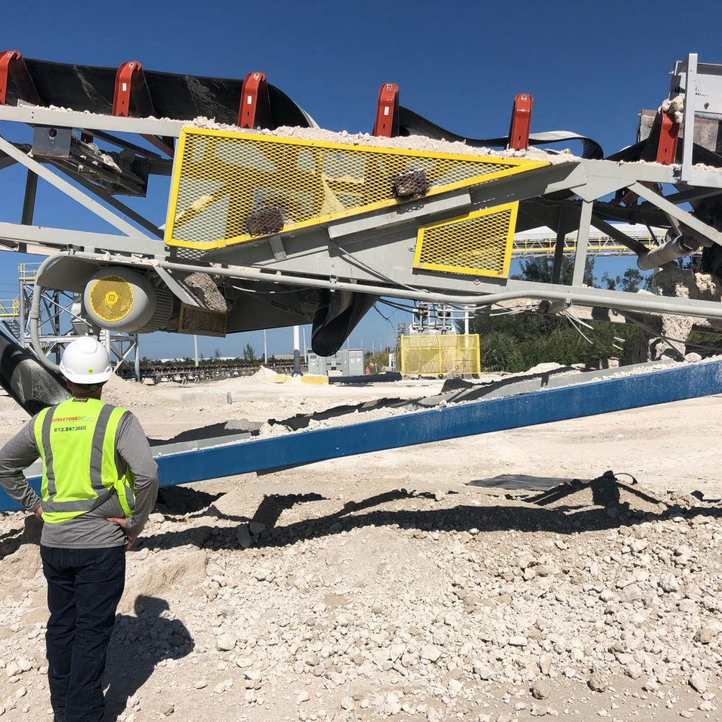 inspection conveyor system