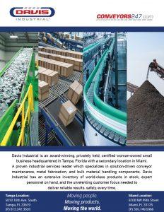 Davis Industrial Line Card Page 1