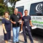 Профілактична акція в Борисполі. Фото: Конвіктус Україна