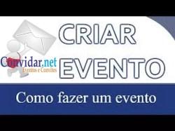 Hotsite de eventos para fazer propaganda grátis na internet