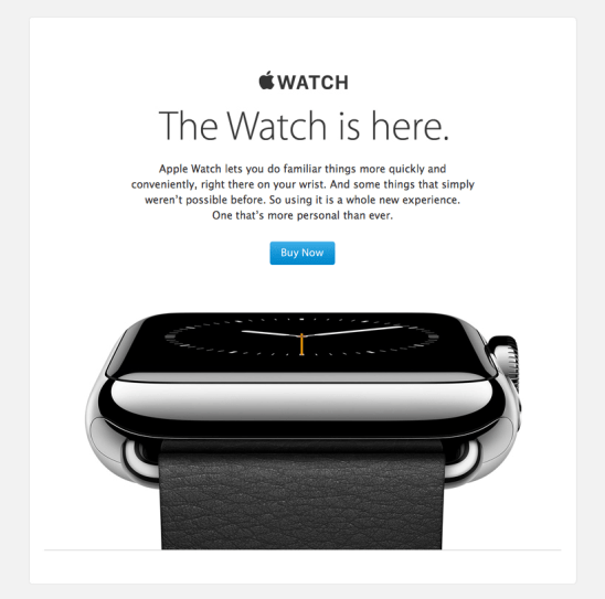 Apple Watch product launch announcement