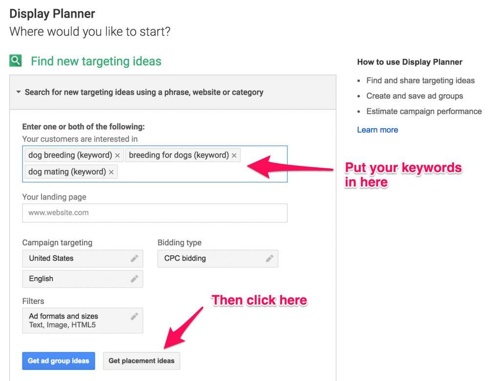 google-display-planner