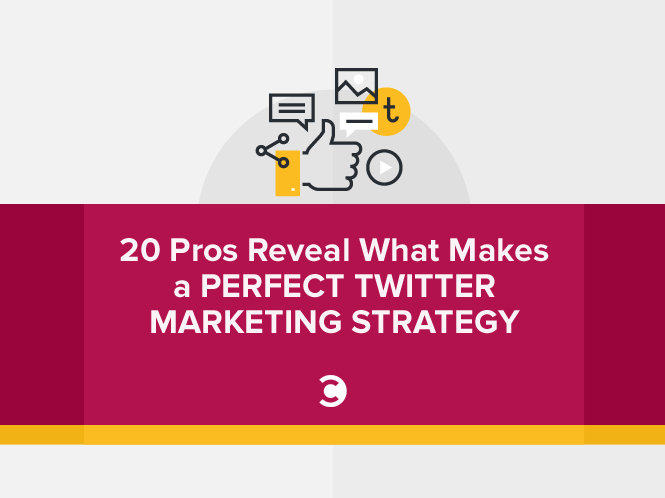 20 Pros Reveal What Makes a Perfect Twitter Marketing Strategy