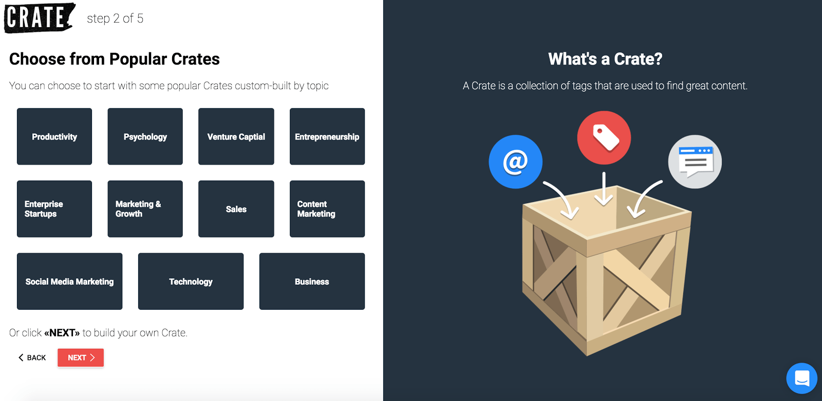 getting started with crate