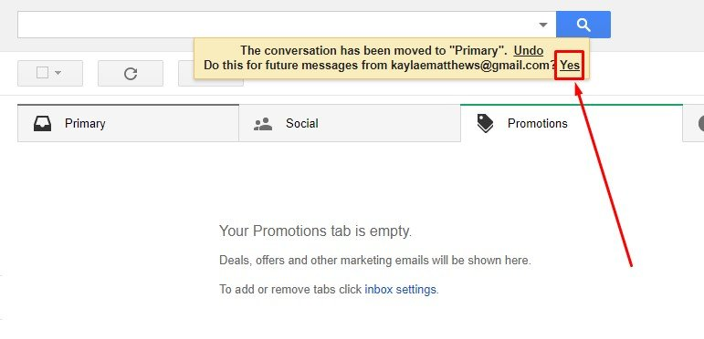 """""""Yes"""" if they's like to easily find your emails in the future."""