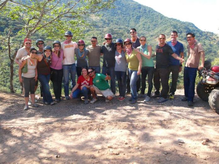 The Convince & Convert Team hiking in 2014