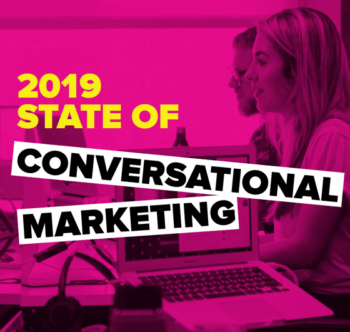state of conversational marketing 2019 cover