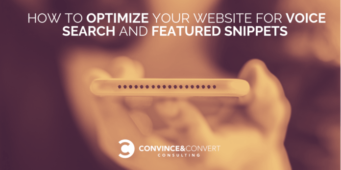How to Optimize Your Website for Voice Search and Featured Snippets