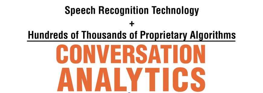 Call Tracking versus Conversation Analytics