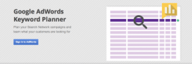 Keyword planner for awesome SEO