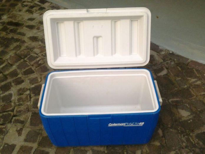 Hard plastic cooler