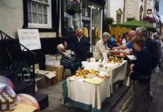 C. Wynne Jones at his honey stall