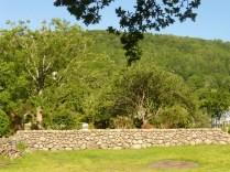 Rowen village, sycamore and oak woodland.