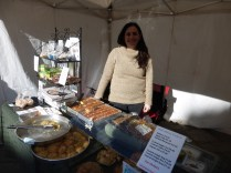 Pelen and her Turkish food stall