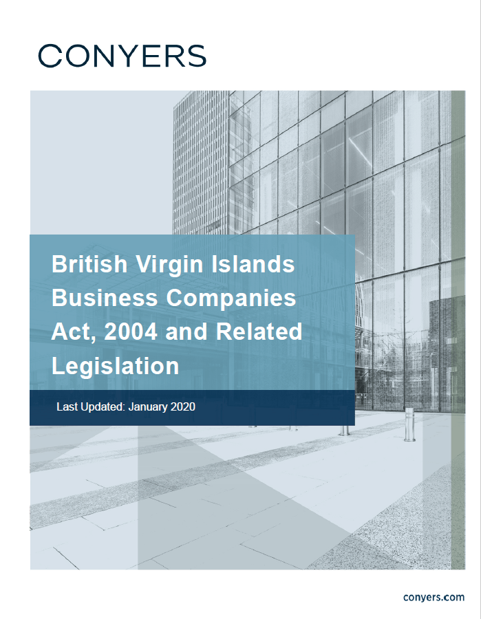 BVI Business Companies Act - Conyers