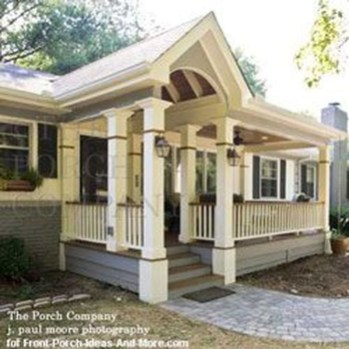 Great Front Porch Addition Ranch Remodeling Ideas 21