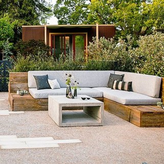 Amazing Backyard Seating Design Ideas 06