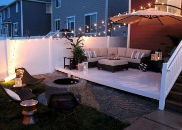 Amazing Backyard Seating Design Ideas 07