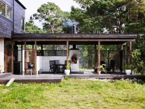 Amazing Scandinavian Backyard Landscaping Ideas 12