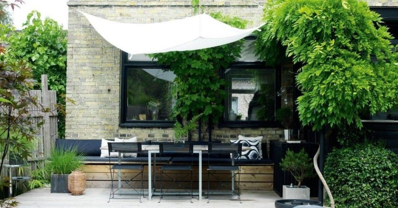 Amazing Scandinavian Backyard Landscaping Ideas 26