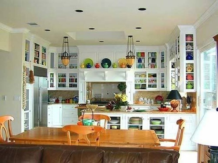 Awesome Decorating Above Kitchen Cabinets 01