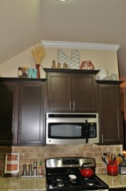 Awesome Decorating Above Kitchen Cabinets 28