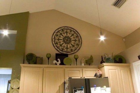 Awesome Decorating Above Kitchen Cabinets 38