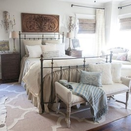 Awesome Farmhouse Style Master Bedroom Ideas 23
