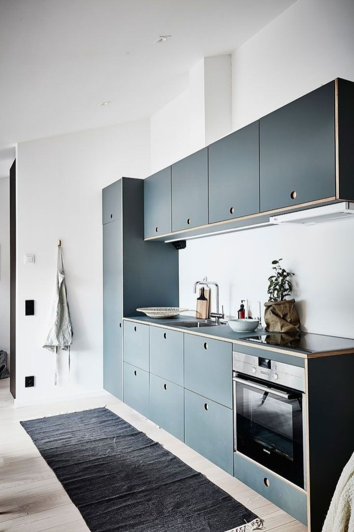 Beautiful Modern Small Apartment Design Ideas 24