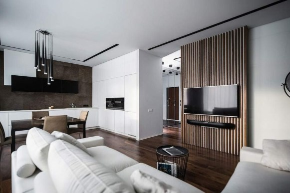 Beautiful Modern Small Apartment Design Ideas 38