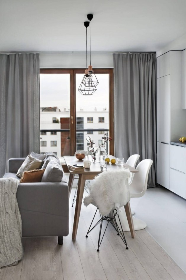 Beautiful Modern Small Apartment Design Ideas 45