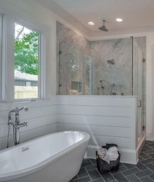 Creative Master Bathroom Shower Remodel Ideas 11