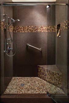 Creative Master Bathroom Shower Remodel Ideas 27