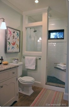Creative Master Bathroom Shower Remodel Ideas 37