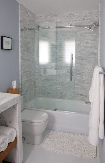 Creative Master Bathroom Shower Remodel Ideas 47
