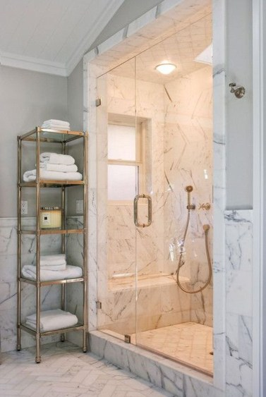Creative Master Bathroom Shower Remodel Ideas 51