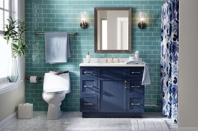 Lovely Eclectic Bathroom Ideas 49