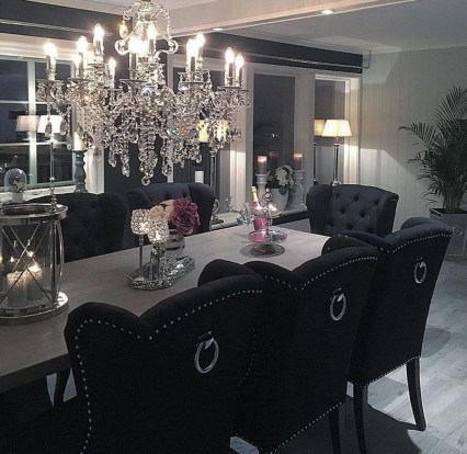 Stylish Beautiful Dining Room Design Ideas 06
