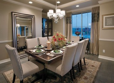 Stylish Beautiful Dining Room Design Ideas 16
