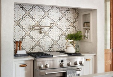 Cute Farmhouse Kitchen Backsplash Ideas 23