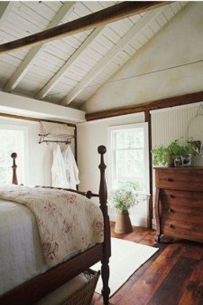 Inspiring Modern Farmhouse Bedroom Decor Ideas 55