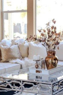 Lovely White Fall Decor Ideas For Interior Design 23