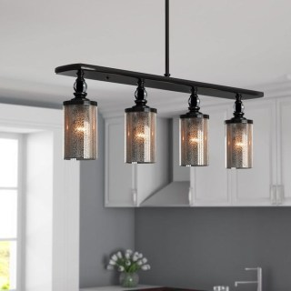 Unique Farmhouse Lighting Kitchen Ideas 15